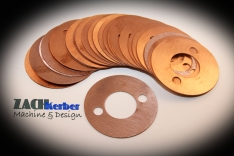 Copper exhaust flange gasket2